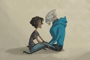 Mass Effect - Lovey Dovey by Aelwen