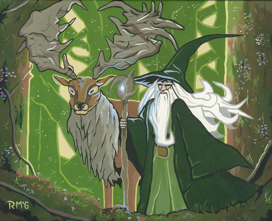 Forest wizard by rekmacForest Wizard
