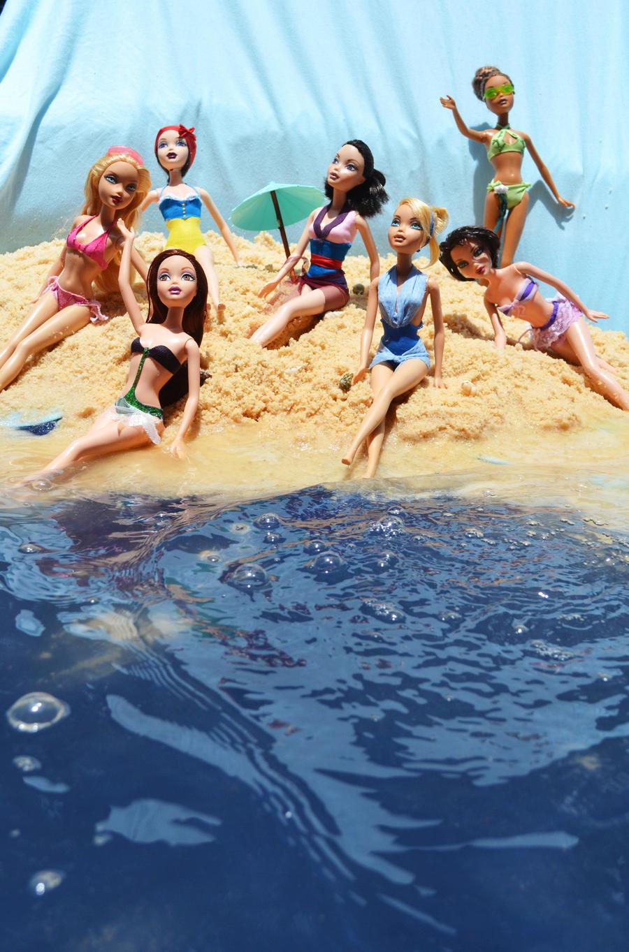 Disney Summer Fun by PinkUnicornPrincess