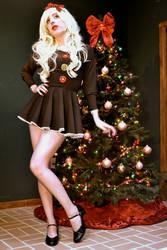 Christmas Dress by PinkUnicornPrincess