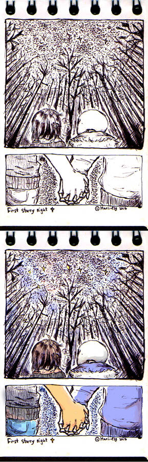 Frans Week - Day 1: First starry night