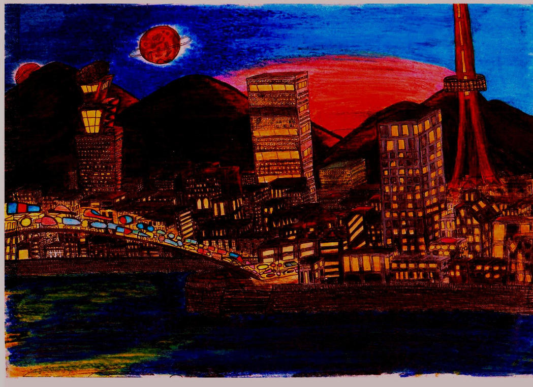 One random evening by Kuro-tamashi