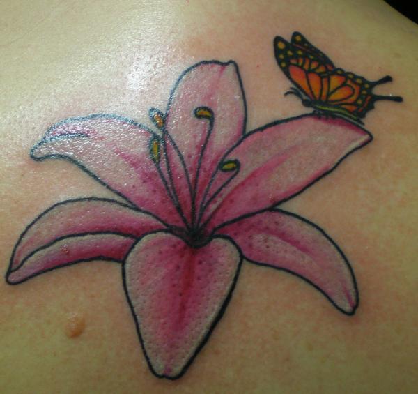 flower tattoo - flower tattoo