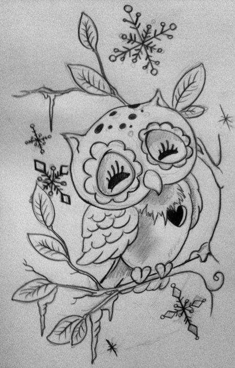 Snow owl by lilmrsfrankenstein on deviantart for Things tattoo artists love