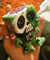 zombie toy by lilmrsfrankenstein