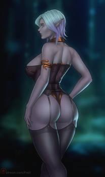 Lumira - drow priestess