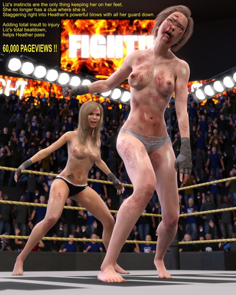 Liz Suffers HUMILIATING beatdown !! by heatherwifi