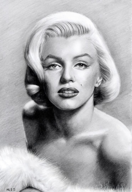 Marilyn Monroe by MLS-art