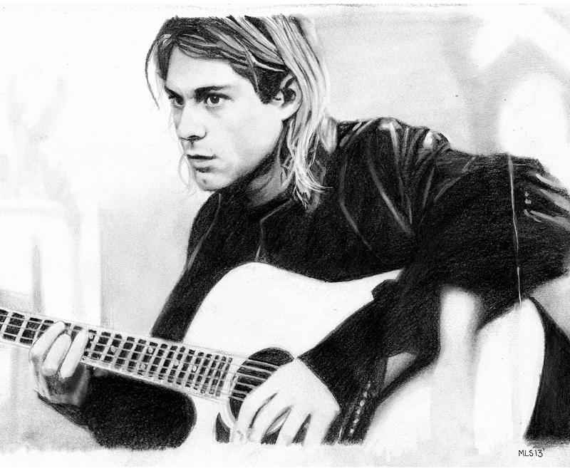 Kurt Cobain by MLS-art