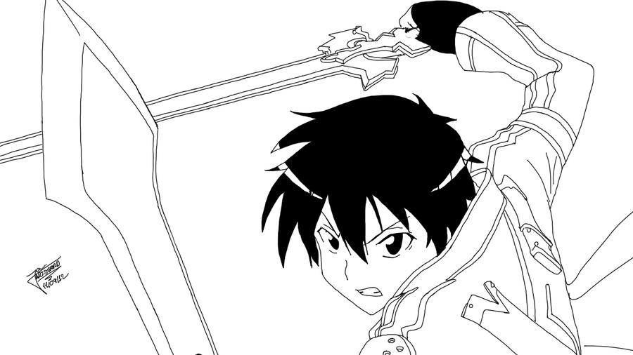 How To Draw Kirito