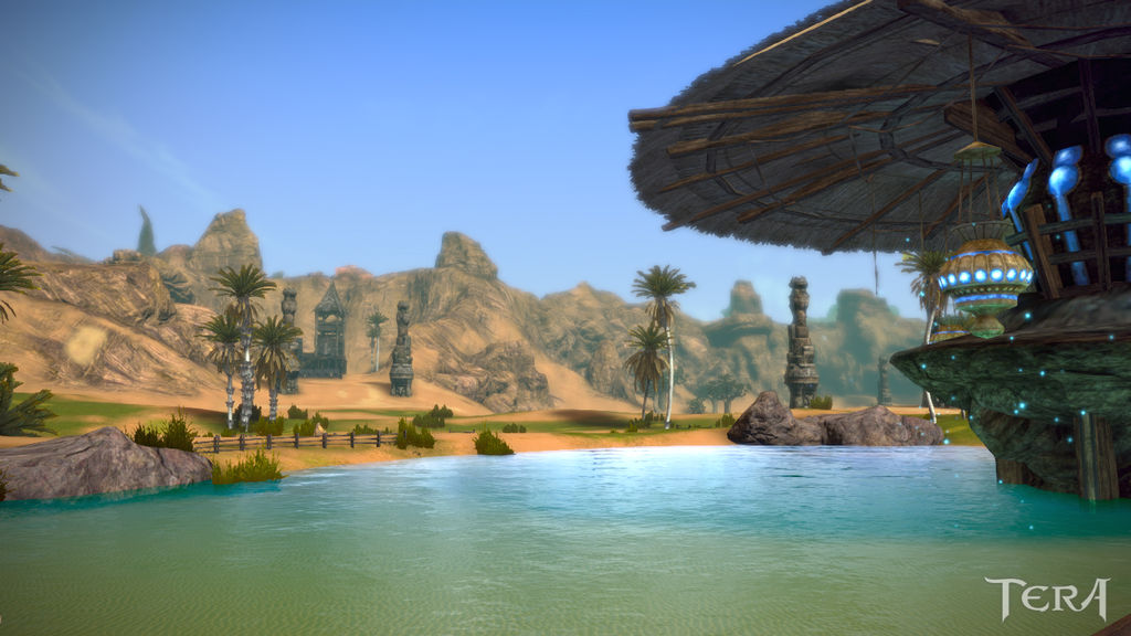 Tera Online Landscapes By Zoltons On Deviantart