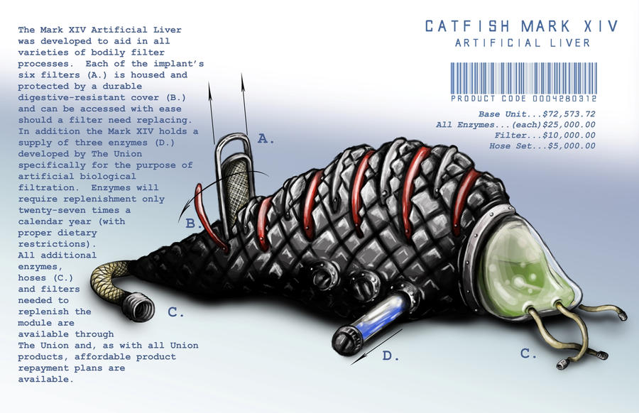 Catfish Mark XIV by ginger-roots