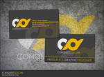 Conquest Designs Business Card