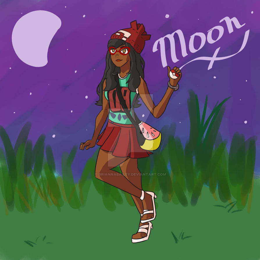 Moon by briannabailey