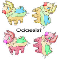 Fakemon Contest Entry by CooCooClown