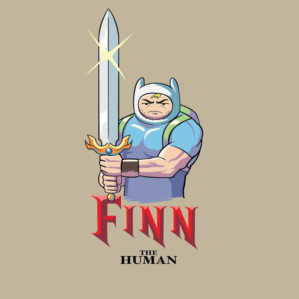 Finn the human by Bourrouet