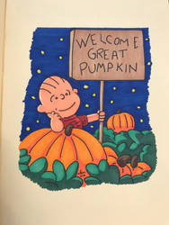 Welcome Great Pumpkin!! by FGHStudio