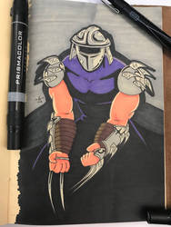 The Shredder  by FGHStudio
