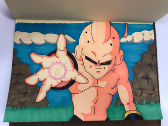 Kid Buu by FGHStudio
