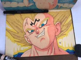 Majin Vegeta by FGHStudio