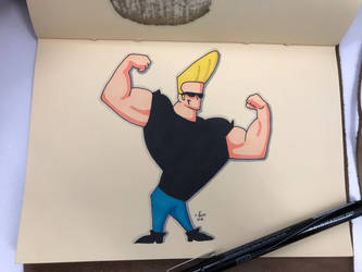 Johnny Bravo by FGHStudio