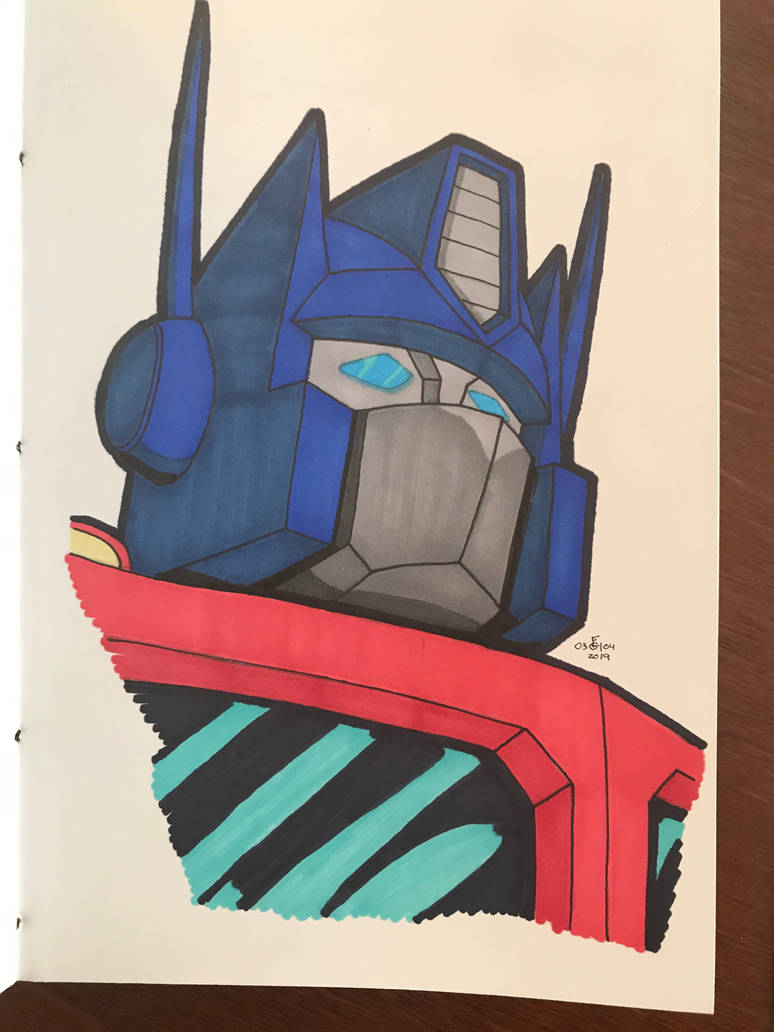 Optimus Prime by FGHStudio