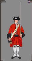 British Empire - Maryland Provincials - 1757