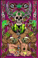 Pachamama, cannabis, humano by ROSENFELDTOWN