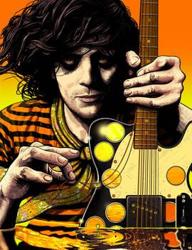 Syd Barrett in the acid sea by ROSENFELDTOWN