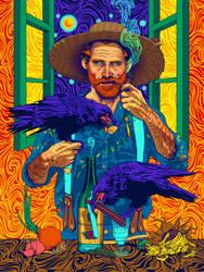 Vincent van Gogh by ROSENFELDTOWN