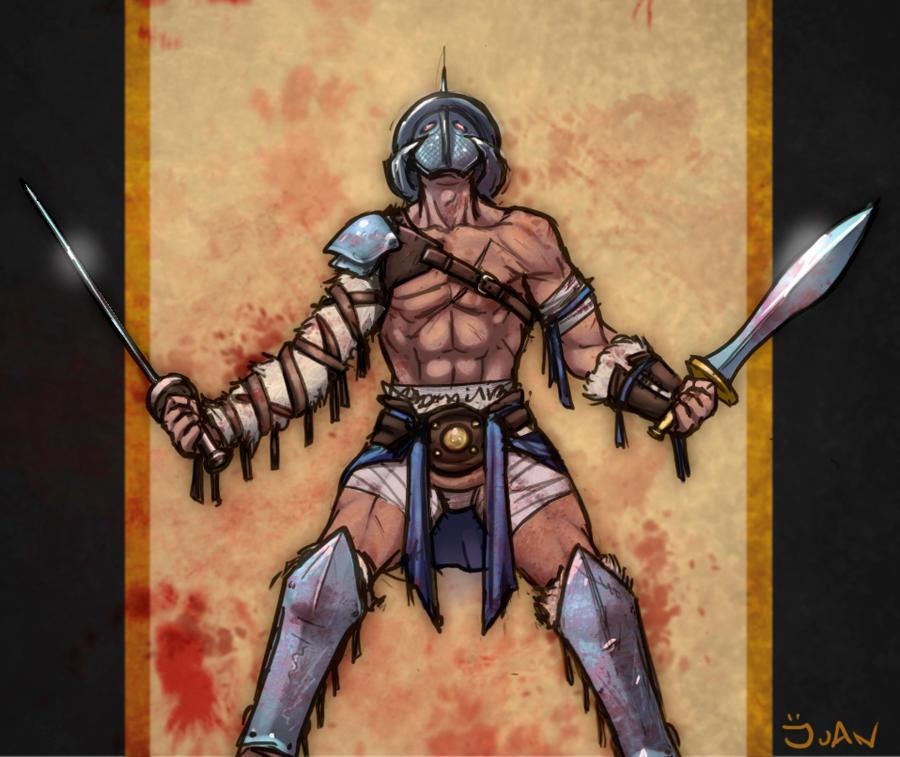 shredder the gladiator by juanFoo