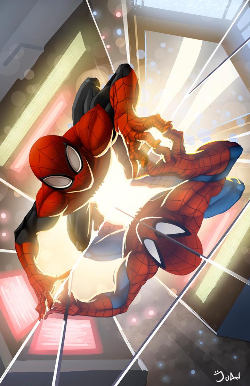 Superior Spiderman by juanFoo