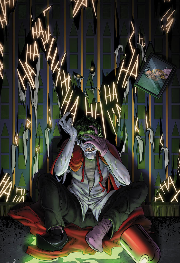 Joker's Birth by juanFoo