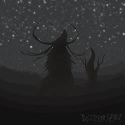 Silhouette of a Deity
