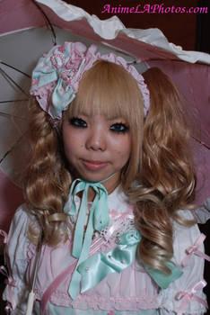 Lolita Pink Parasol