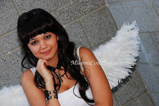 Angel sitting