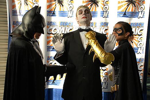 Batman Batwoman Joker