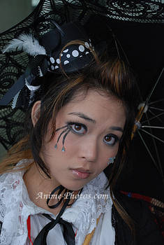 Lolita Black White n Parasol