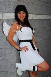 Angel kickin It