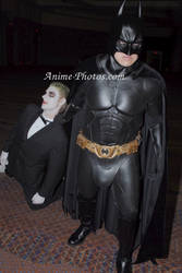 Batman Joker drag off