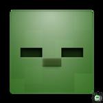 Minecraft - Zombie Head Icon