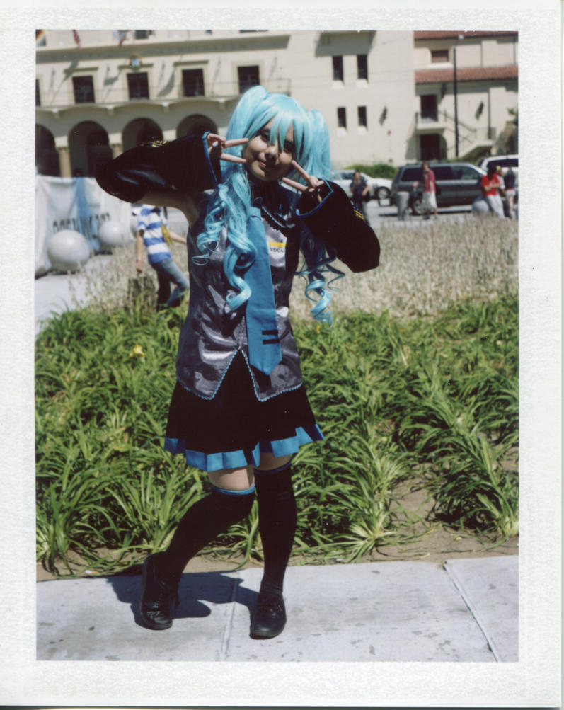 Miku Highlighted by Cadha13