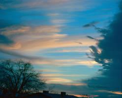 Layered Clouds