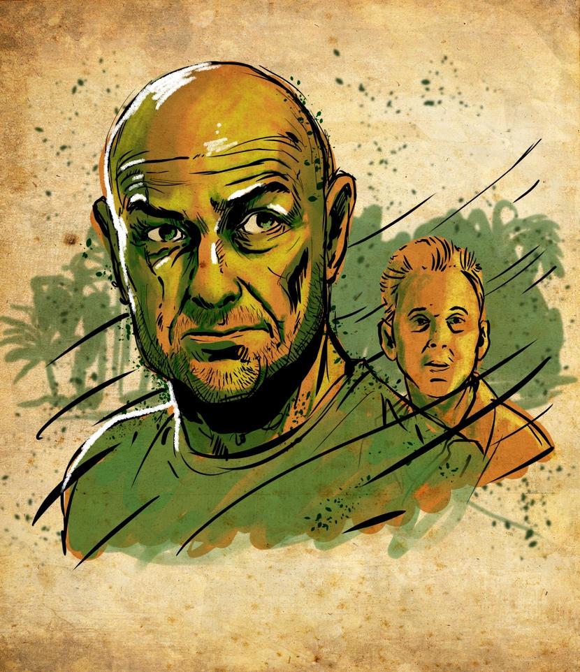 Locke and Ben by BlotchComics