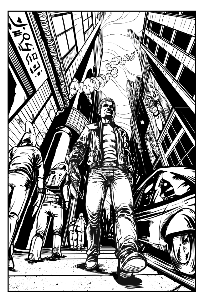 Page 1 - Finished Inks by BlotchComics