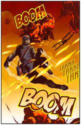 WW1 Superhero (Final) by BlotchComics