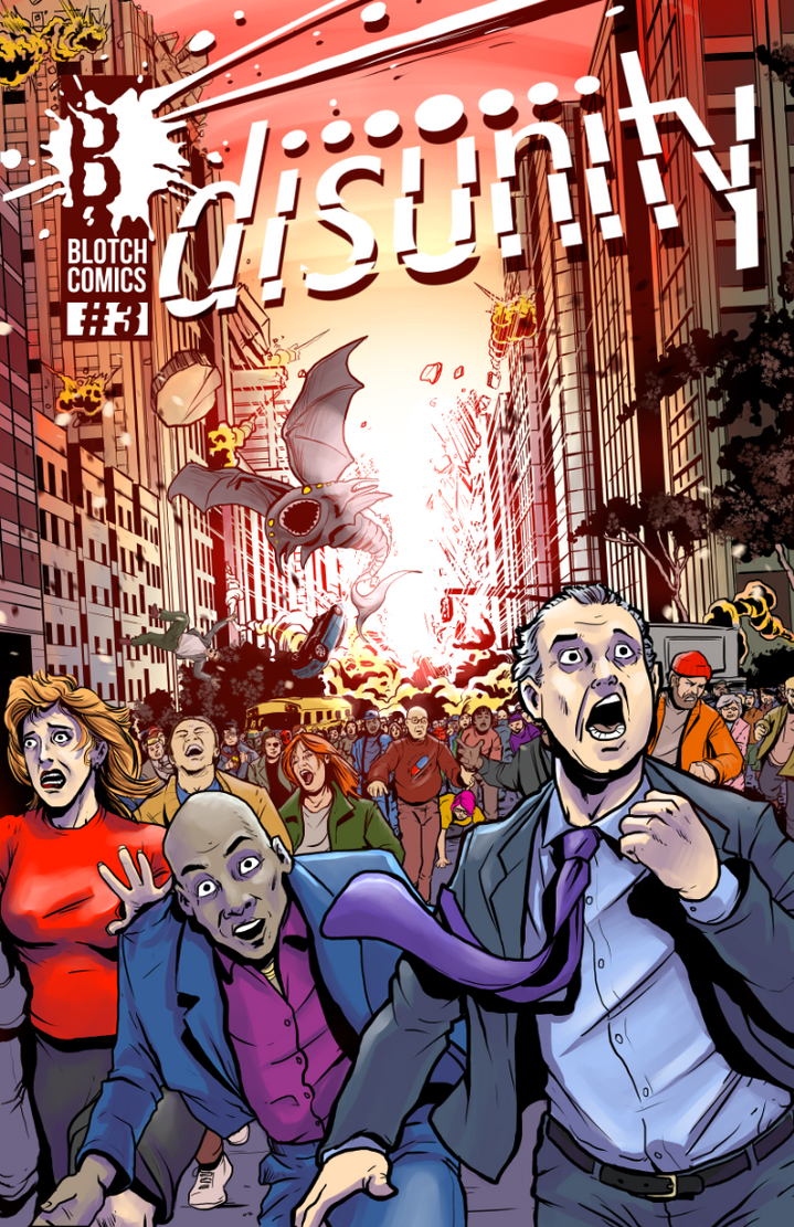 disunity Issue 3 cover (version 3) by BlotchComics