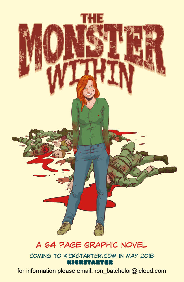 TheMonsterWithin promo by BlotchComics