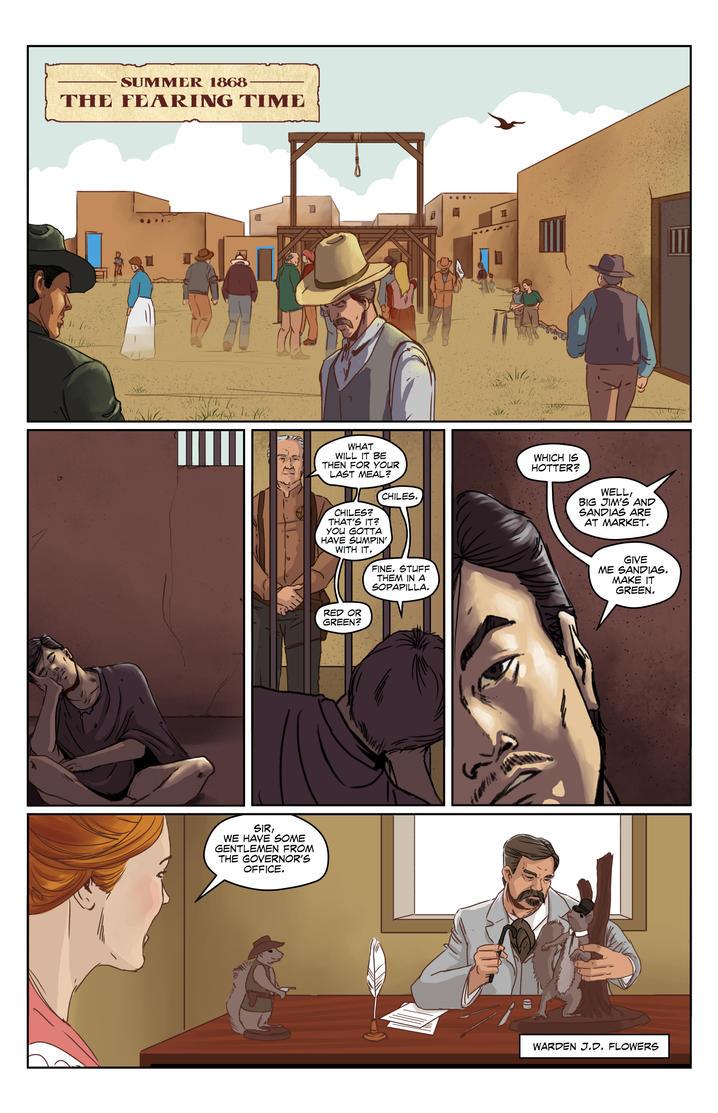 LosPoncheros Page 16 by BlotchComics