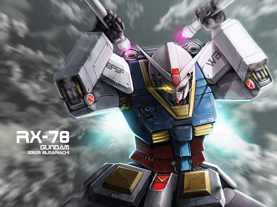 RX-78 GUNDAM by REAL-ELMARIACHI